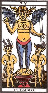 Tarot: qué significa la carta del Diablo